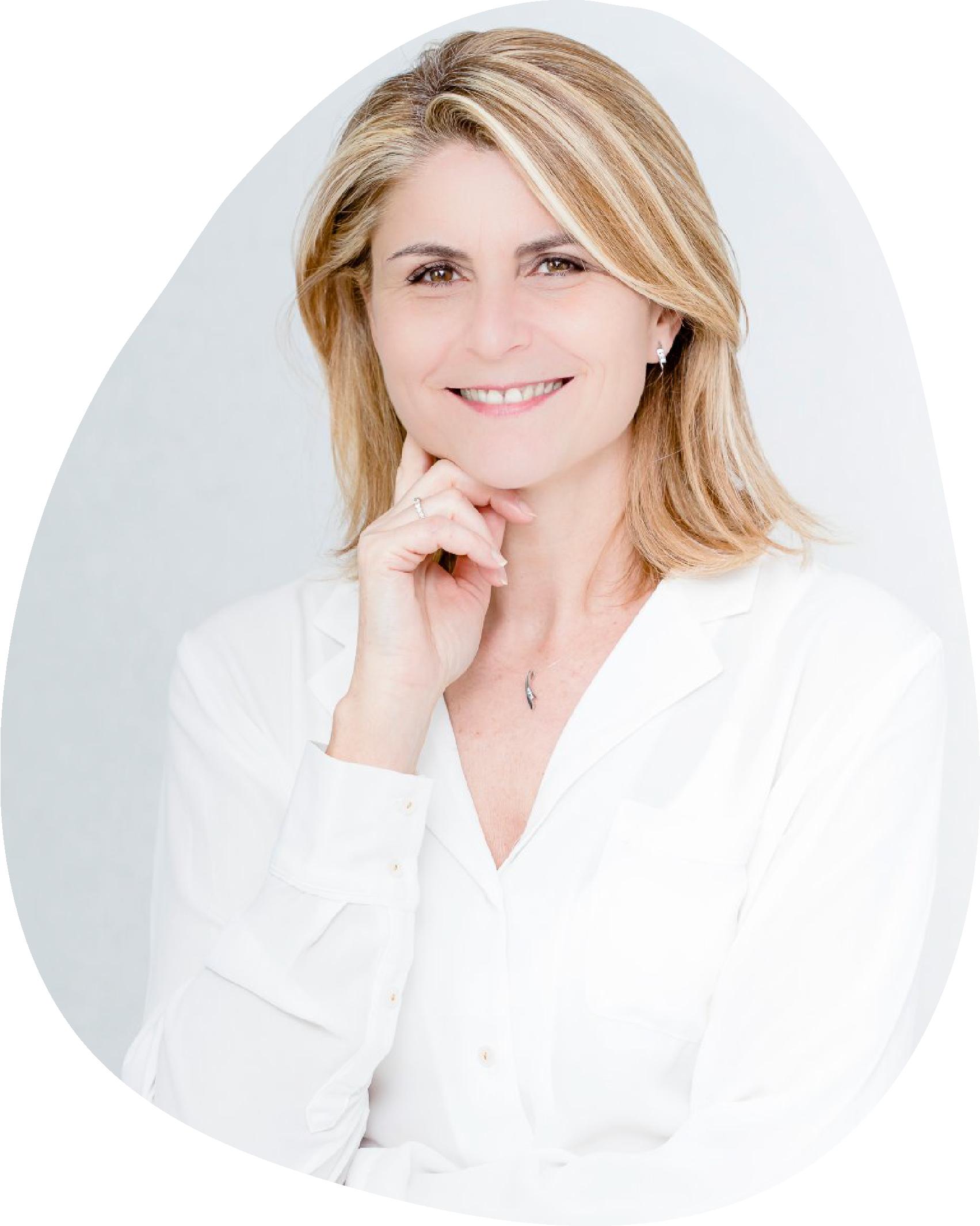 portrait Valérie Charlo fondatrice de Tête Coeur Corps